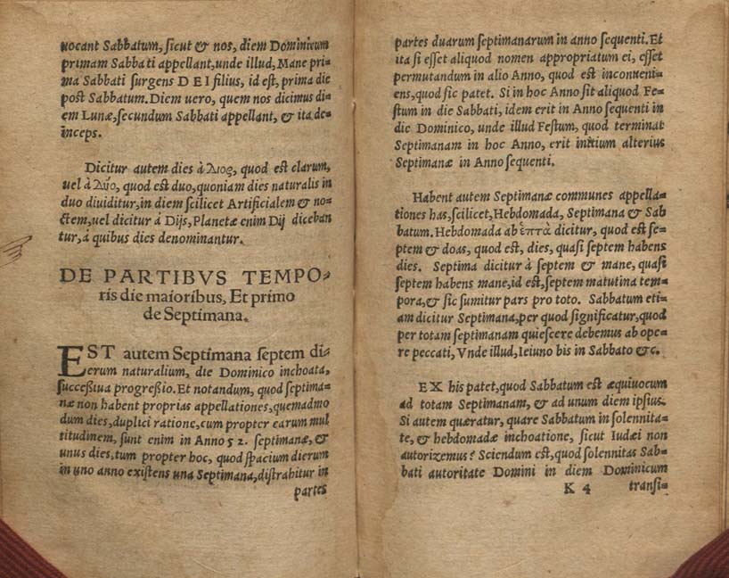 "manuscript ""index"" (pointing finger) on fol. K3 verso and facing page"