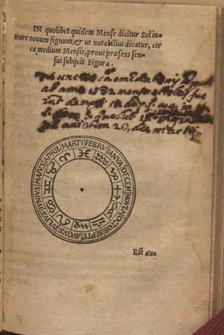 manuscript notes on fol. K[6] recto