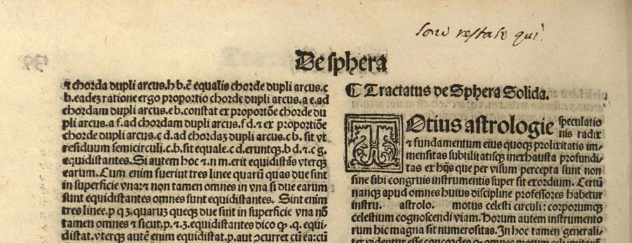 detail of manuscript annotation on fol. 139 verso