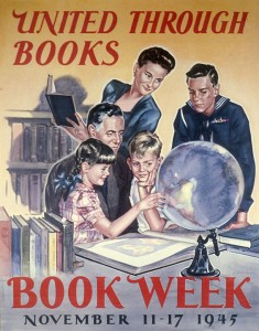 Poster from Book Week, 1945
