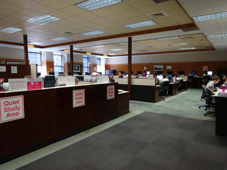 Spaces - Service Desks - InfoLab