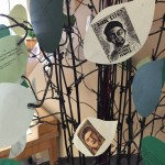 A tree sculpture for the Ayotzinapa Exhibit