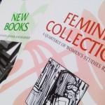 Photo of Gender & Women's Studies publications covers