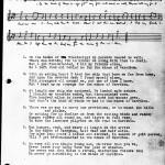 Rickaby manuscript
