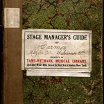 Stage manager's guide