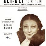 Eli Eli sheet music