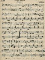 Gigante manuscript score