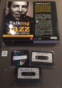Ben Sidran's tapes of interviews he conducted for his Talking Jazz radio program, which were compiled into a book and CD box set.