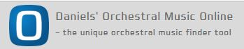 Logo of Daniel's Orchestral Music Online database