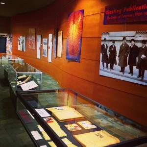 Futurism Exhibit in Memorial Library