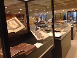 Display at Kohler Art Library.