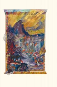 Joshua Anthology, Donald Jackson, Copyright 2010, The Saint John's Bible, Saint John's University, Minnesota USA.