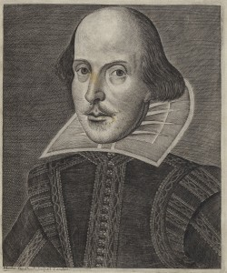 DroeshoutPortrait_FirstFolioFolger - (courtesy Folger Shakespeare Library)