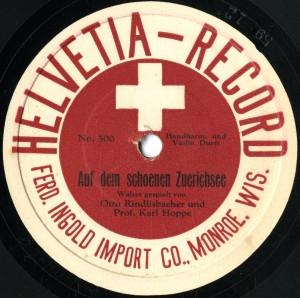 Rindlisbacher 78 disc