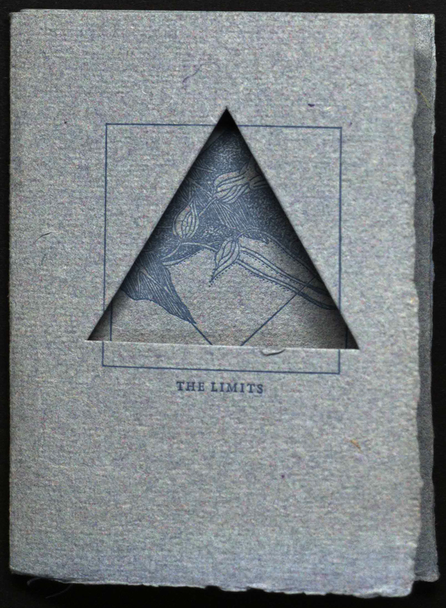 Front cover from Anita Barrows, et al., The limits ( (Black Mesa Press, 1982). From Special Collections, Memorial Library, University of Wisconsin-Madison.