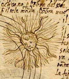 detail from geocentric depiction of eclipses as contained in MS 83 (1570), Special Collections, Memorial Library, University of Wisconsin-Madison. See also https://www.library.wisc.edu/specialcollections//exhibits/sacrobosco/index.html
