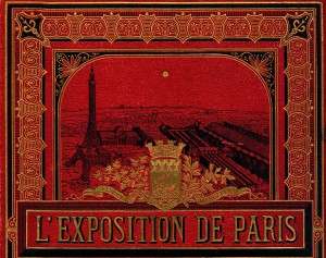 Detail from L'Exposition de Paris (1889). Department of Special Collections, Memorial Library, University of Wisconsin-Madison.