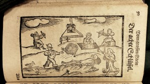 8th key, from Basilius Valentinus, Tractat (1626). Duveen Collection.