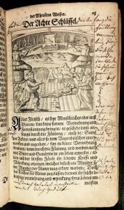 Eighth key, from Basil Valentinus, Von dem grossen Stein der Uhralten (1666). Duveen Collection.