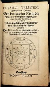 Von dem grossen Stein der Uhralten, daran so viel tausend Meister anfangs der Welt hero gemacht haben (1666). From the Duveen Collection.