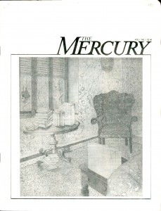 The mercury, published in Baltimore in 1983.