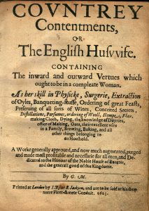 Markham, Country contentments (1623).