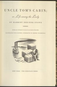 Title page for an edition published in 1962 by the Heritage Press.