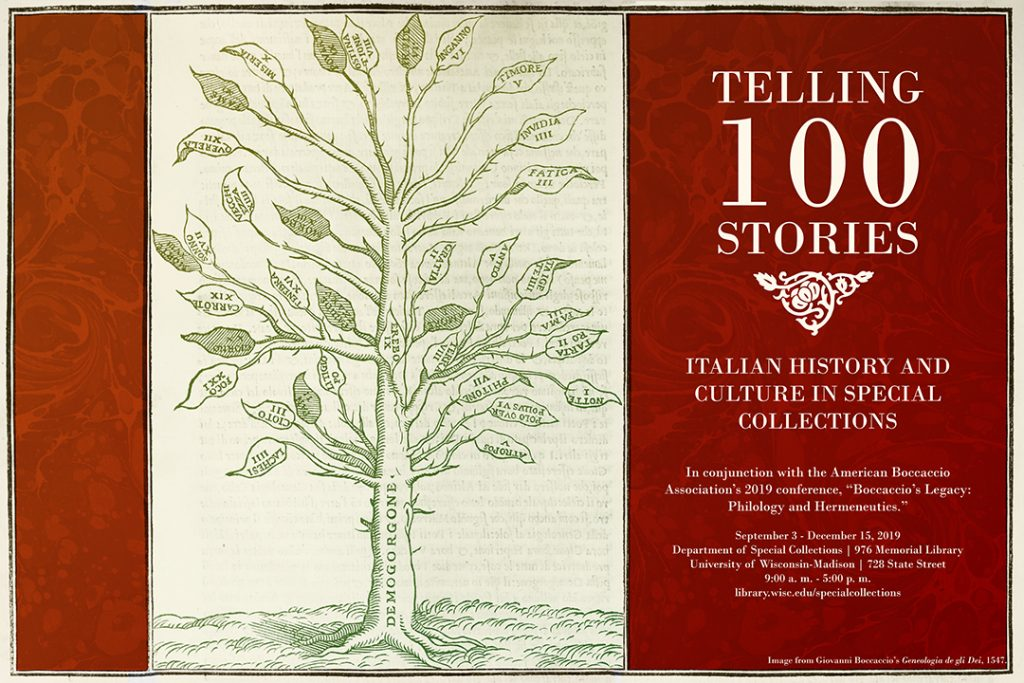Telling 100 Stories: Italian History and Culture in Special Collections