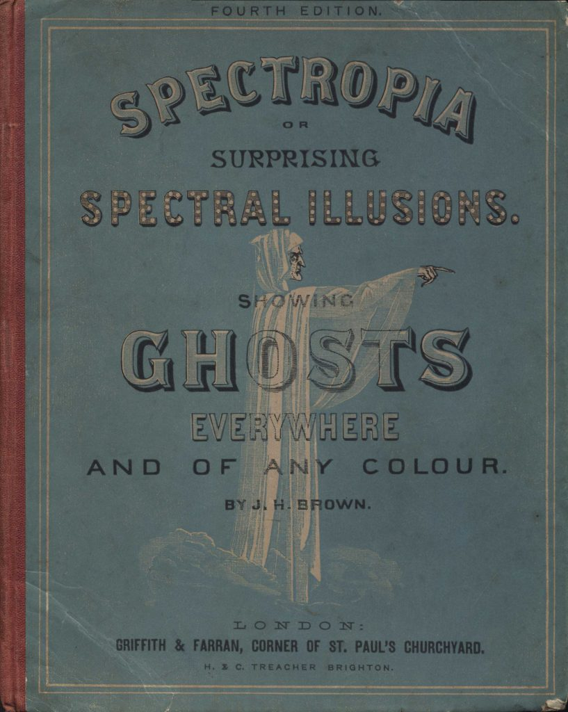 Cover of Spectropia (1865).